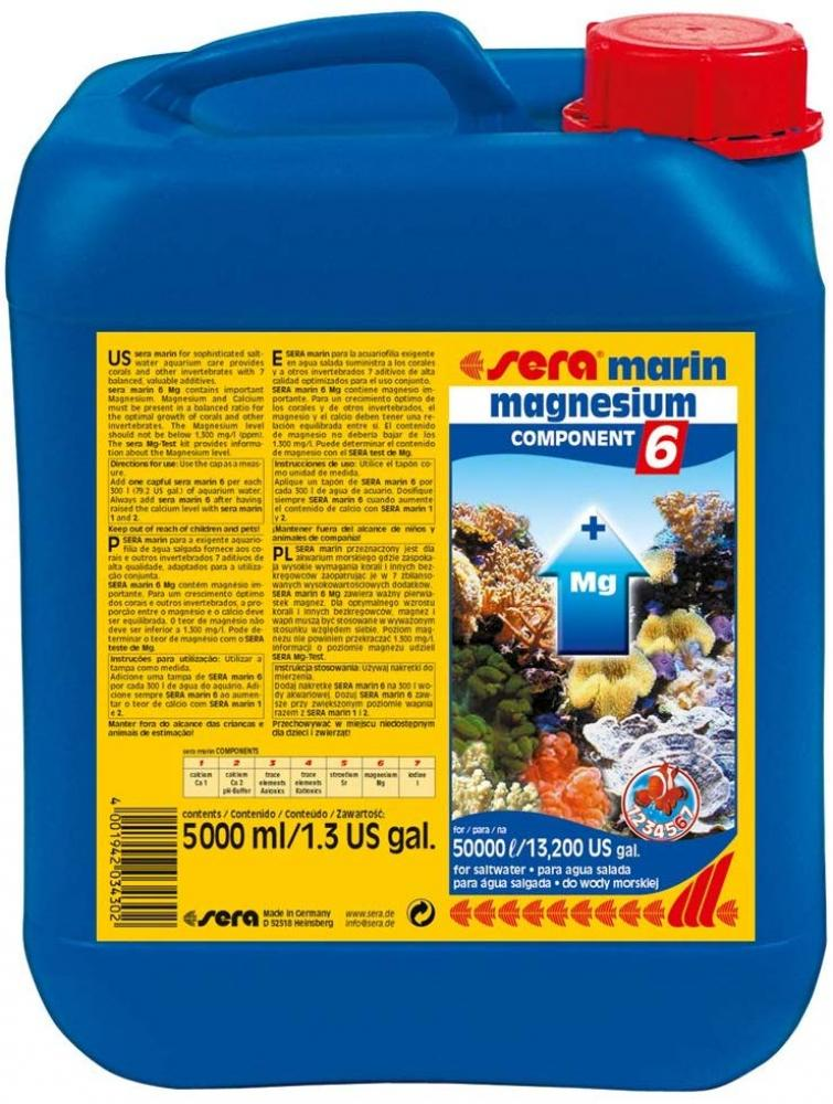 Sera Marin Component 6 Magnesium Water Treatment 5 L