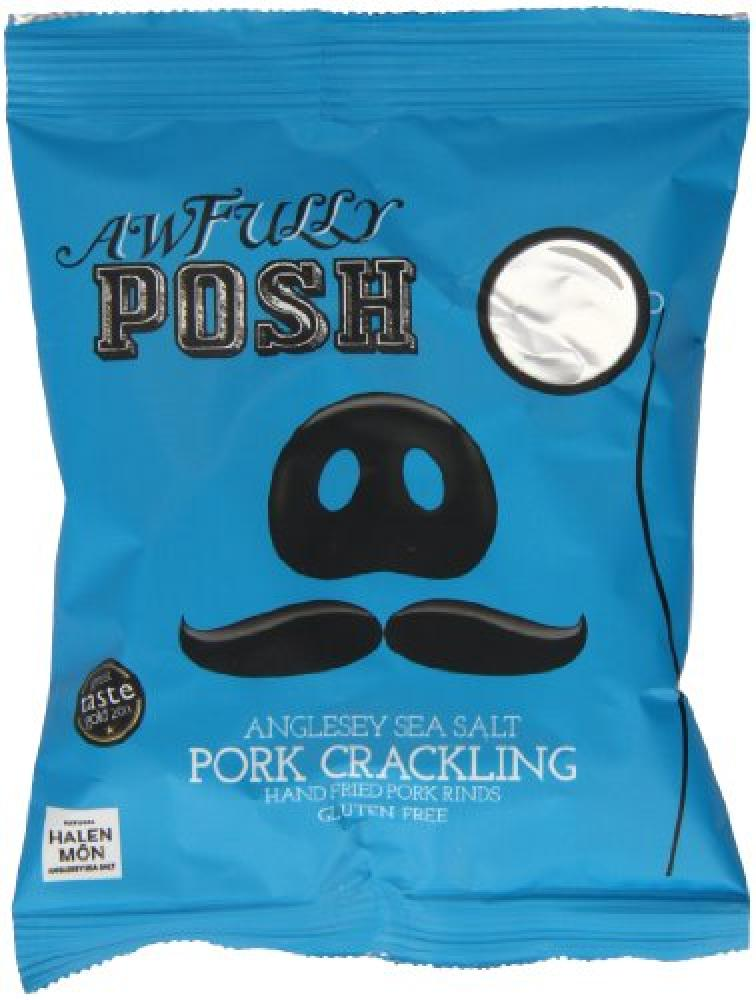 WEEKLY DEAL  Awfully Posh Anglesey Sea Salt Crackling 40g