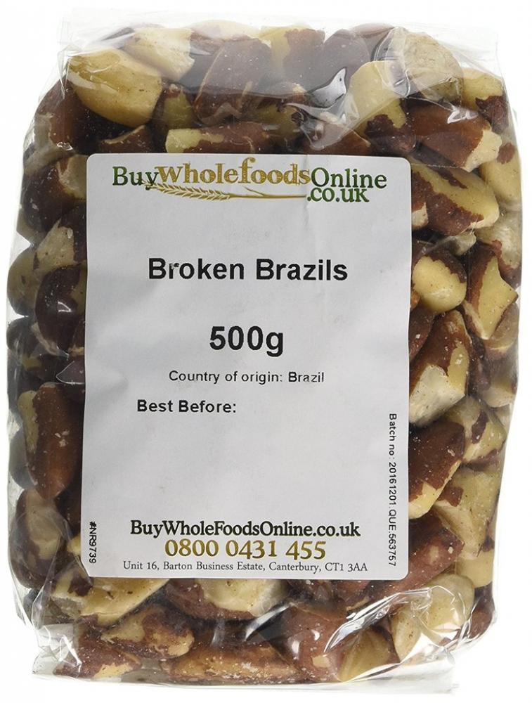 Buy Whole Foods Broken Brazil Nuts 500g