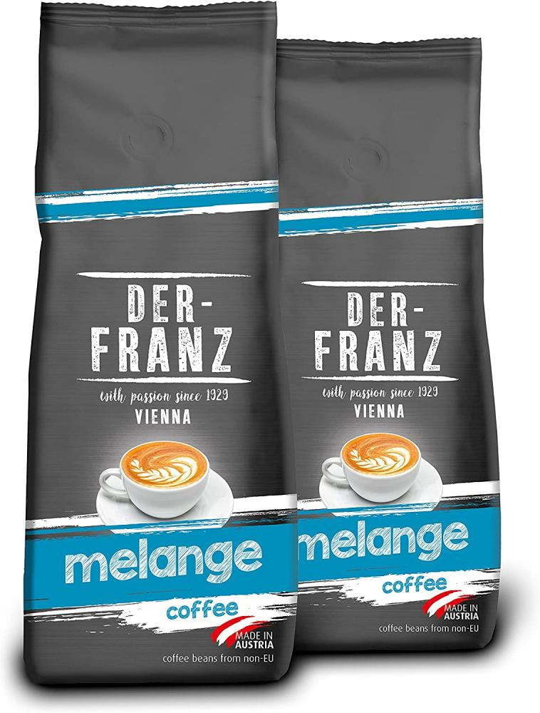 Der Franz Melange Coffee Ground 500g