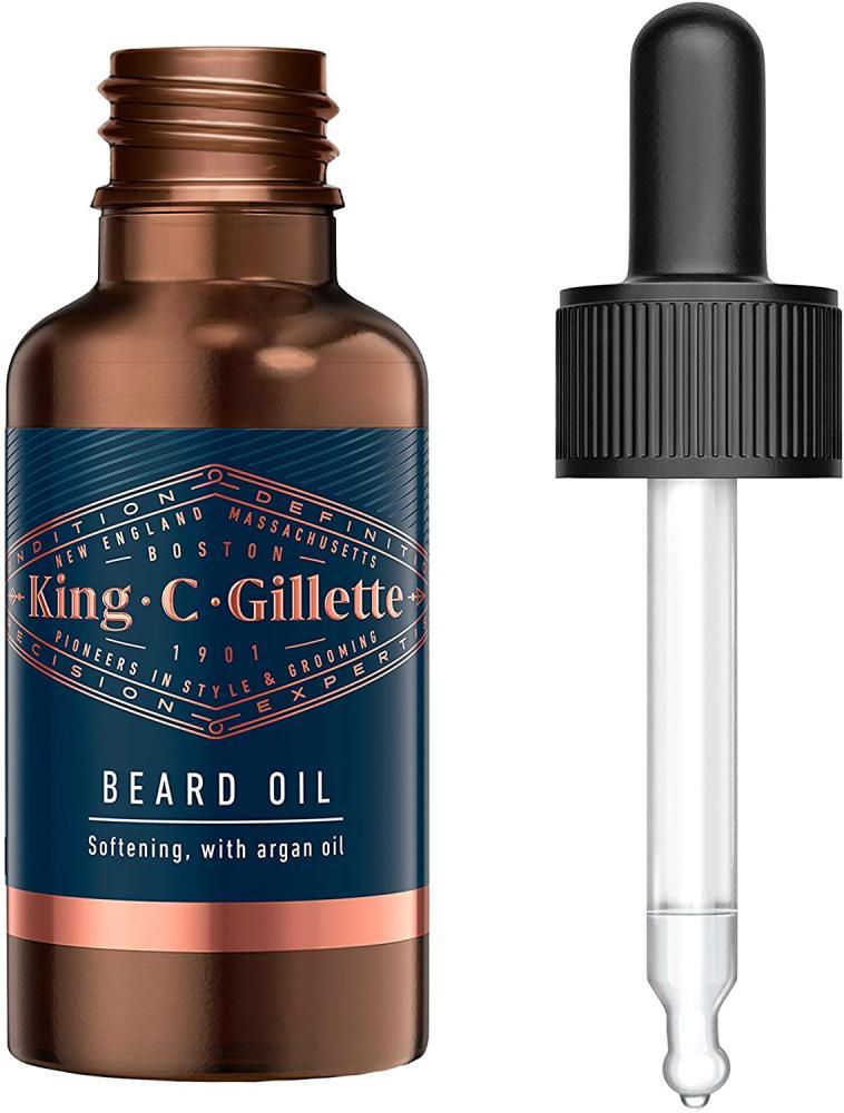 Gillette King C Beard Oil for Men 30 ml