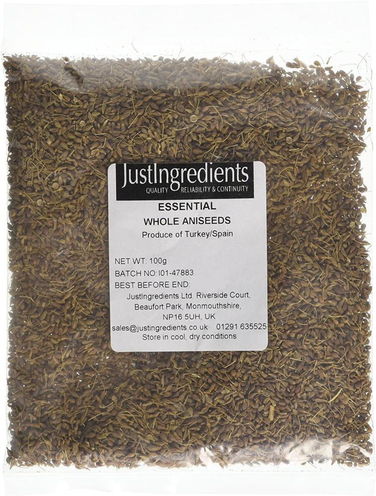 JustIngredients Essentials Aniseed 100 g