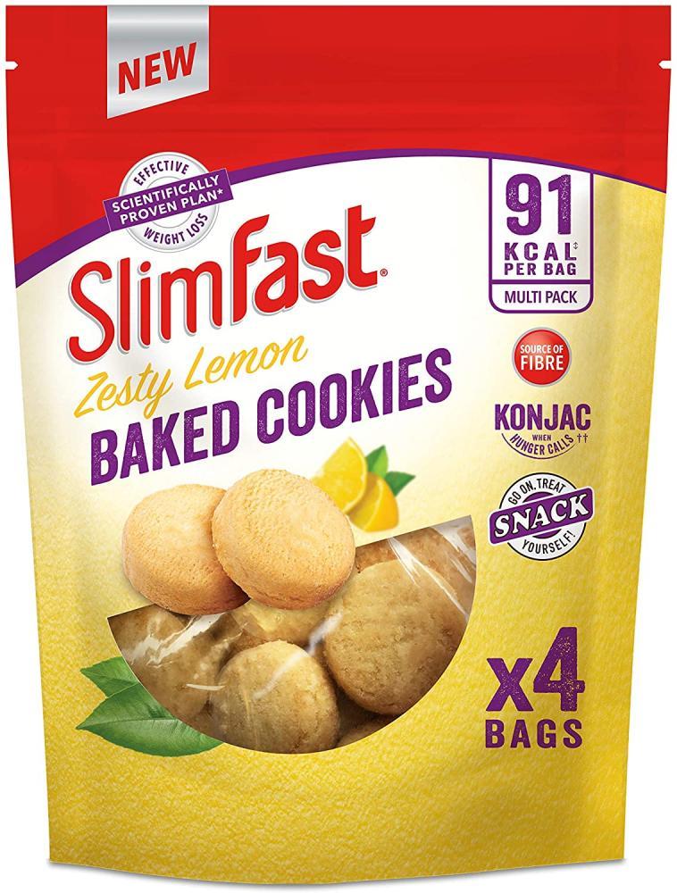 SlimFast Zesty Lemon Baked Cookies 96g
