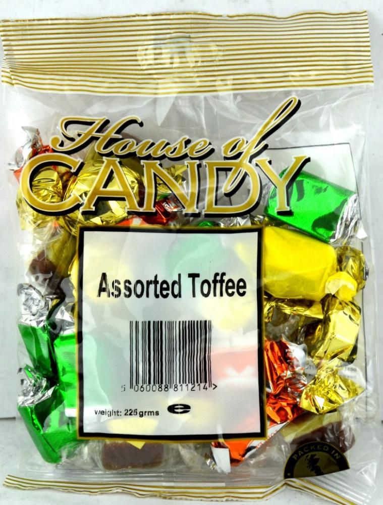 House Of Candy Assorted Toffee 225g