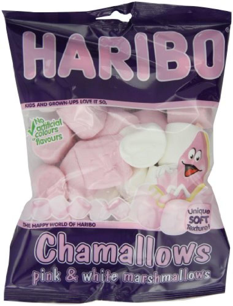 Haribo Chamallows Pink and White Marshmallows 150 g