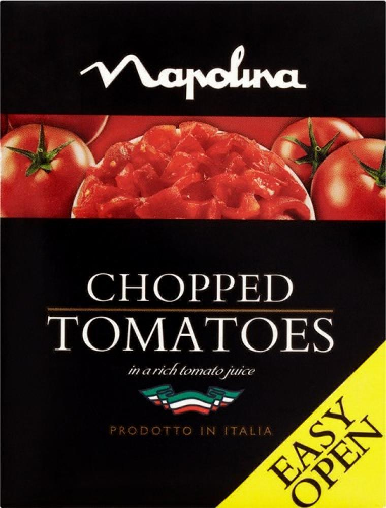 Napolina Chopped Tomatoes 390g