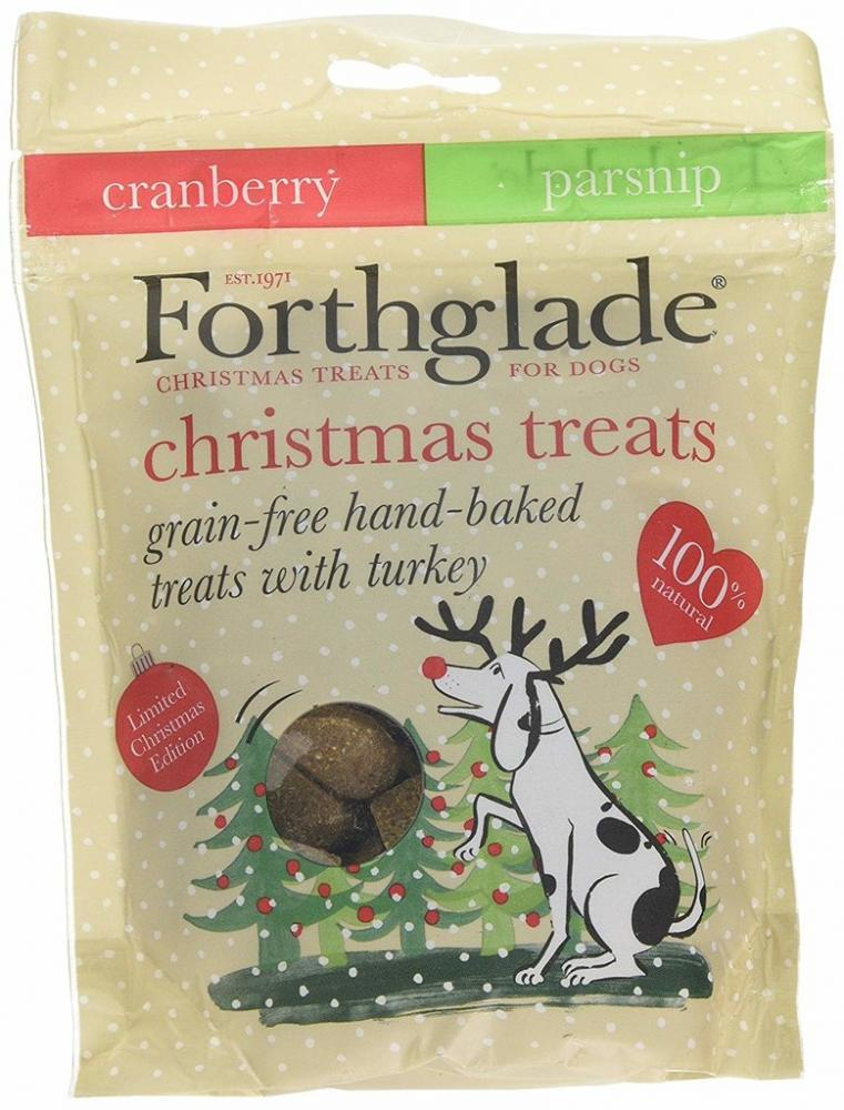 WEEKLY DEAL  Forthglade Christmas Treats - Cranberry and Parsnip 150g