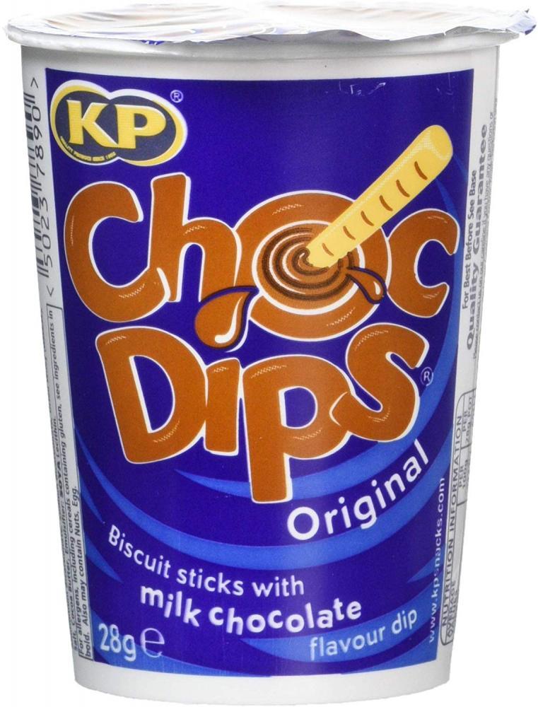 Kp Chocolate Dips 28g