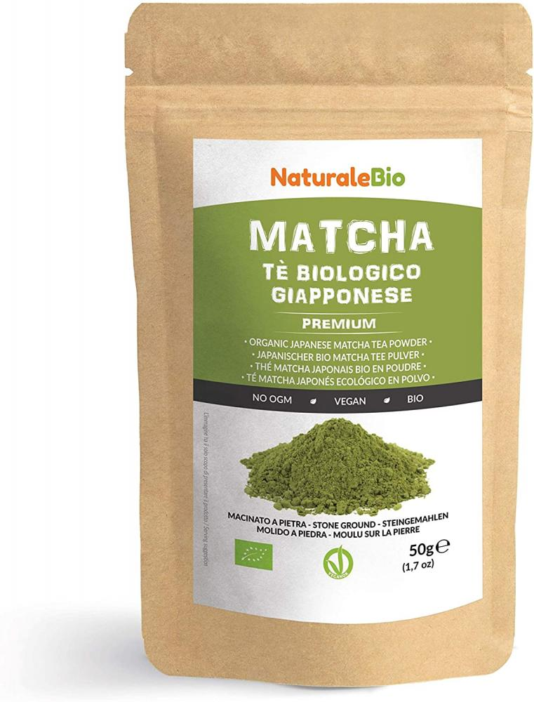 NaturaleBio Organic Matcha Green Tea Powder 50g