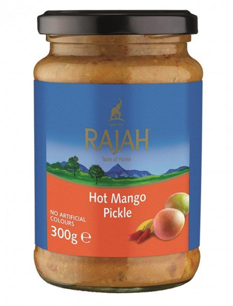 Rajah Hot Mango Pickle 300g