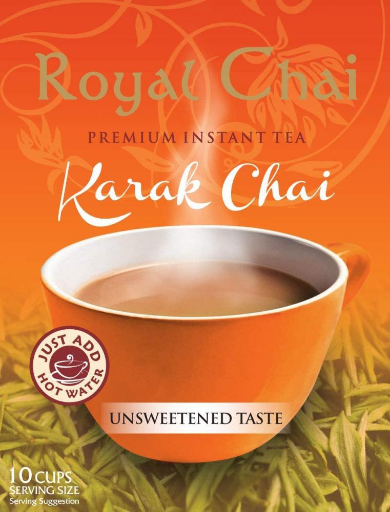Royal Chai Premium Instant Tea Kark Chai 140 g