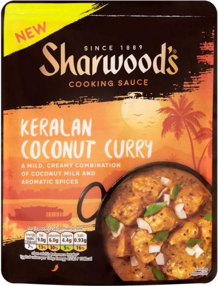 Sharwoods Keralan Coconut Curry Sauce 250g