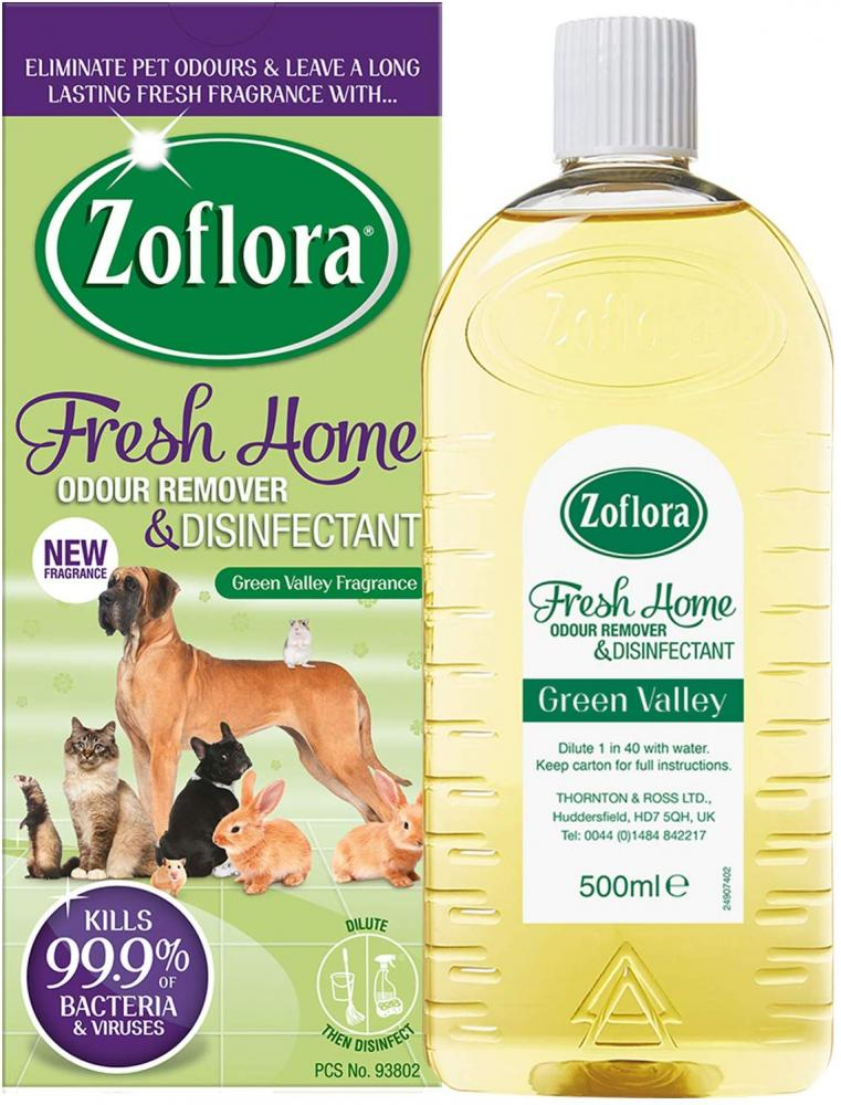 Zoflora Fresh Home Odour Remover Antibacterial Disinfectant 500ml