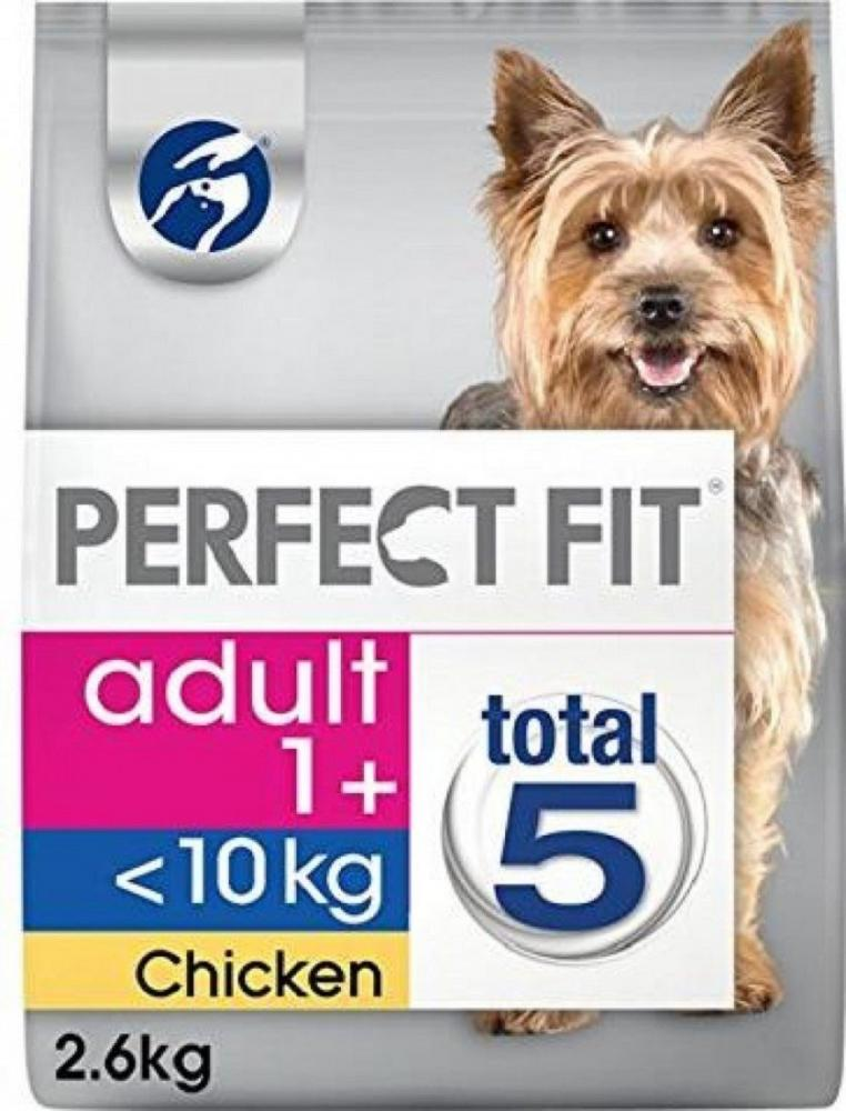 Perfect Fit Adult Small Dog Food Rich in Chicken 2.6kg