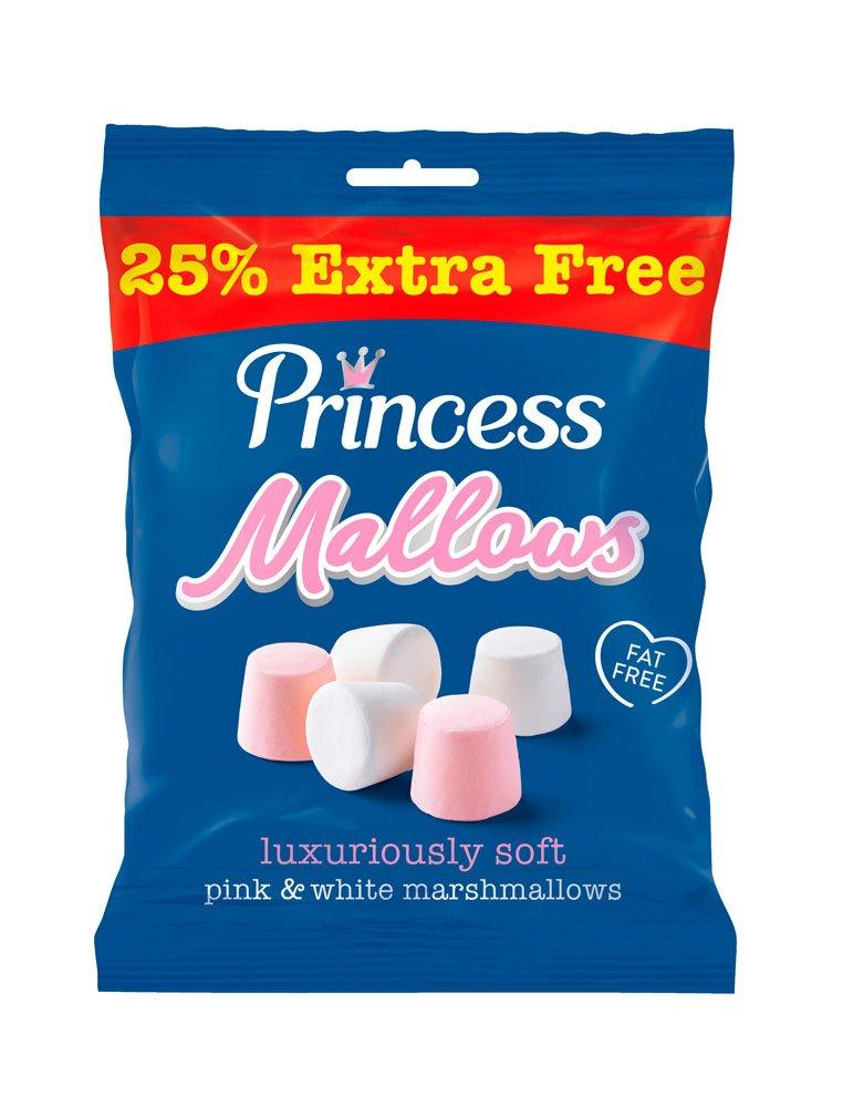 Princess Marshmallows Pink and White 190g