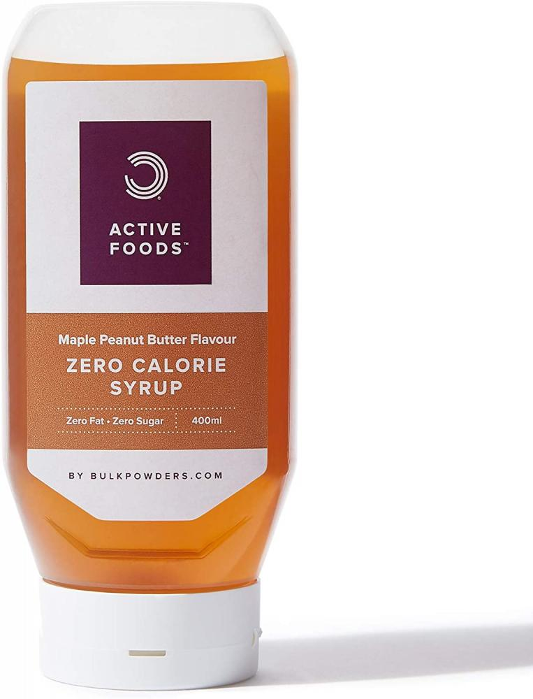 Bulk Powders Zero Calorie Syrup Sugar Free Maple Peanut Butter 400 ml