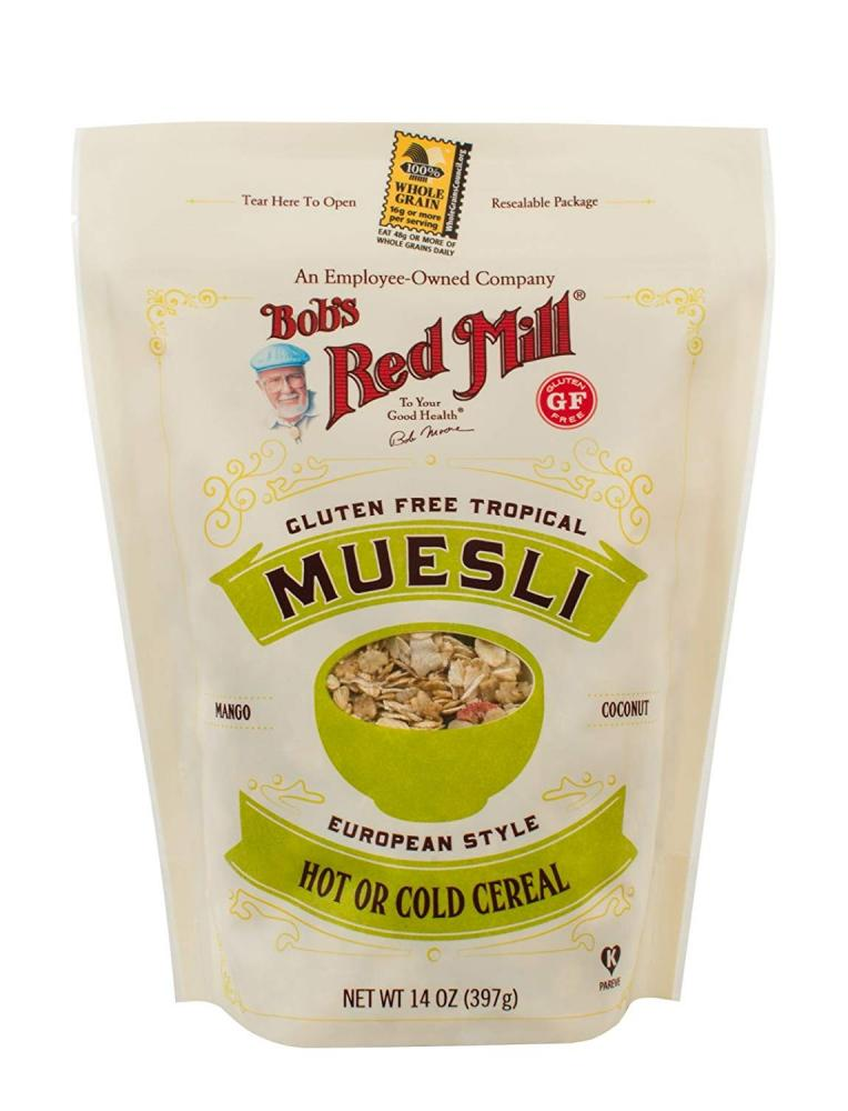 Bobs Red Mill Gluten Free Tropical Muesli 397g