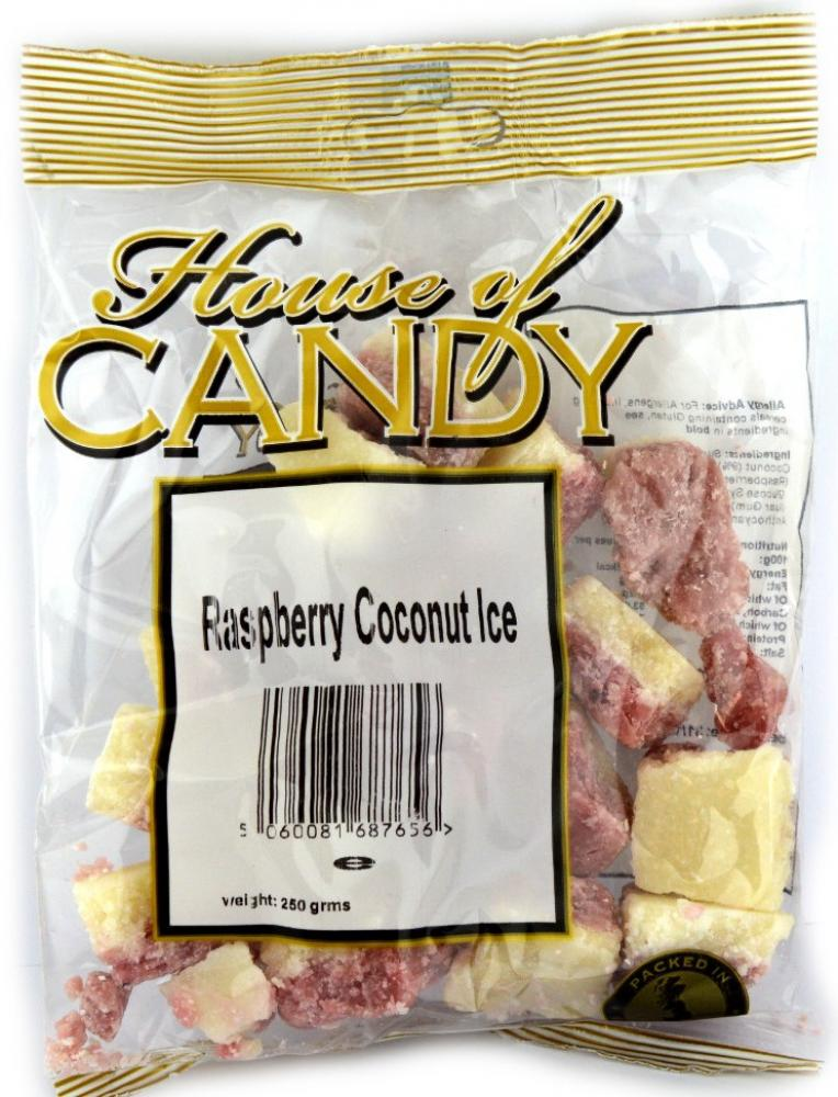 House Of Candy Raspberry Coconut Ice 250g