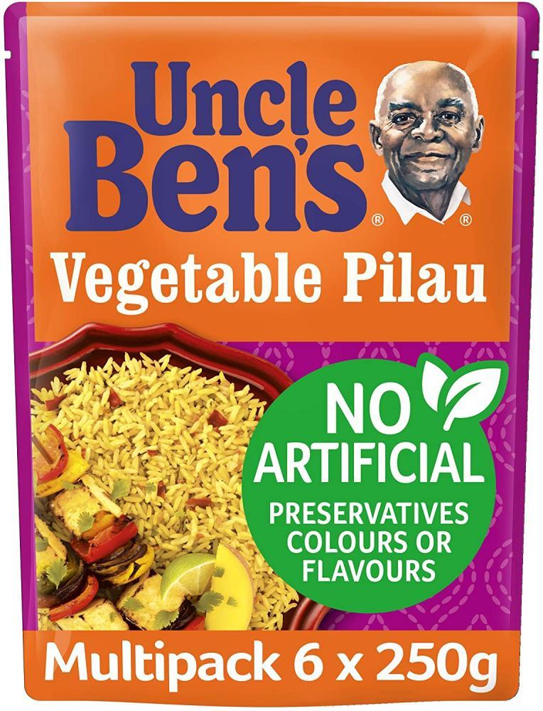 Uncle Bens Vegetable Pilau 250g