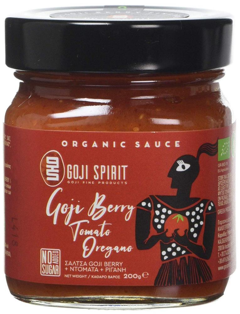 Goji Spirit Organic Sauce with Goji BerryTomato and Oregano 200g