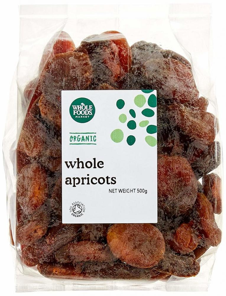 Whole Foods Market Organic Whole Apricots 500g