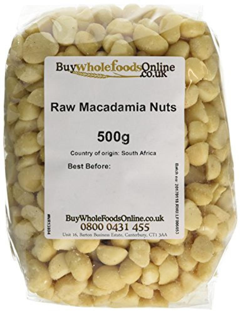 Buy Whole Foods Macadamia Nuts Whole Raw 500 g