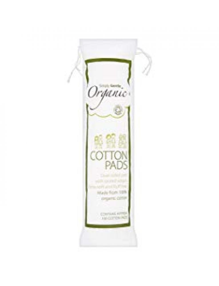 Simply Gentle Organic Cotton Pads x100