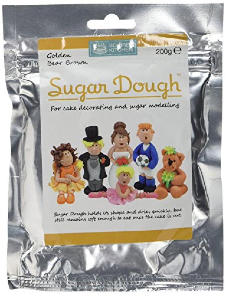 Squires Kitchen Golden Bear Brown Sugar Dough 200g