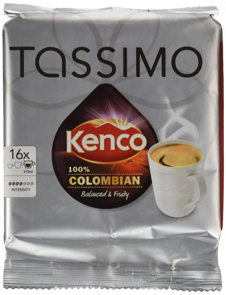 Tassimo Kenco Colombia 136g