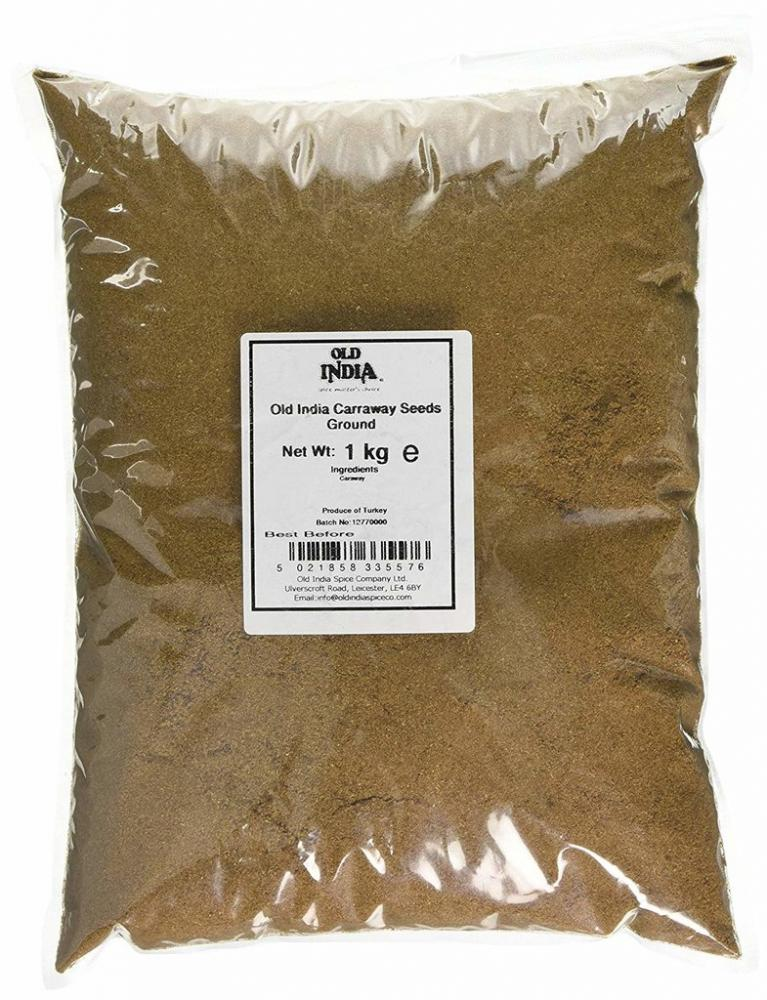 Old India Carraway Seeds Ground 1kg