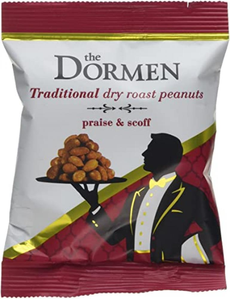 CASE PRICE  Dormens Dry Roasted Peanuts 80 x 27g