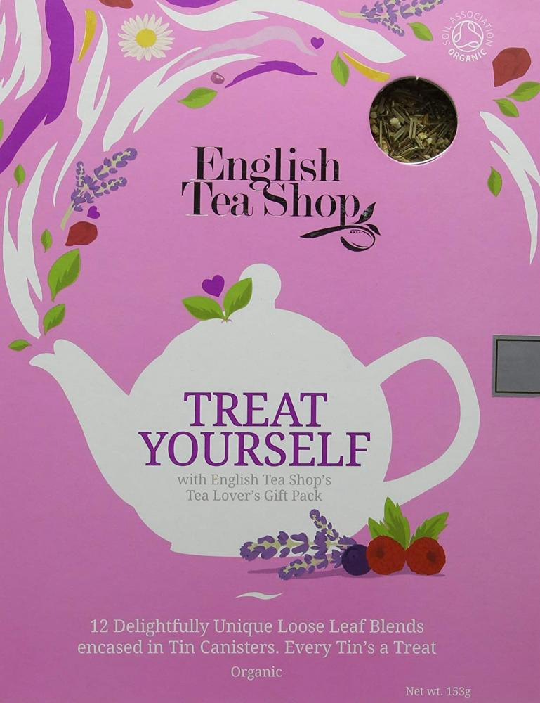 English Tea Shop 12 Delightfully Unique Loose Leaf Blends 153g