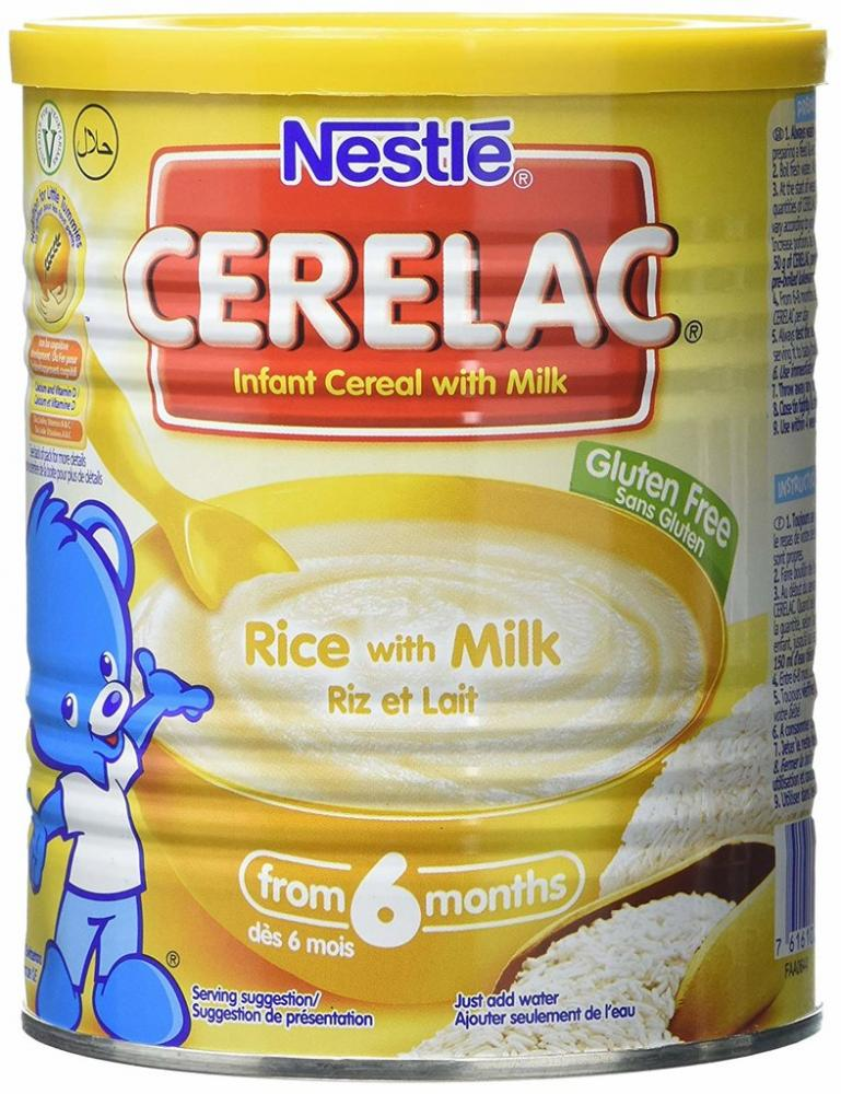 Nestle Cerelac Rice with Milk Infant Cereal From 6 Months 400g