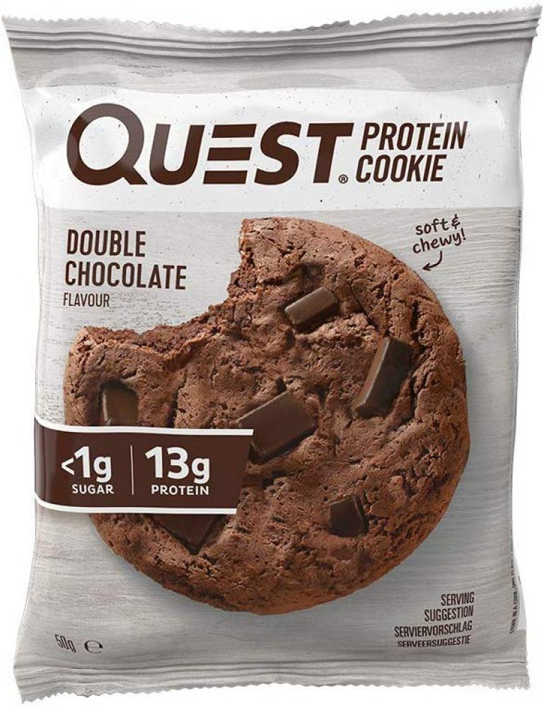 Quest Double Chocolate Protein Cookie 50g