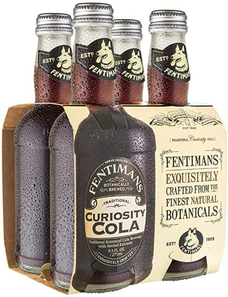 SALE  Fentimans Curiosity Cola 4 x 275ml