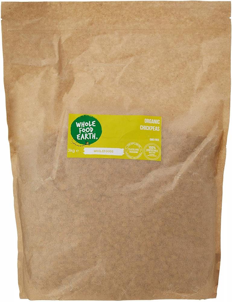 Wholefood Earth Organic Chickpeas 3kg