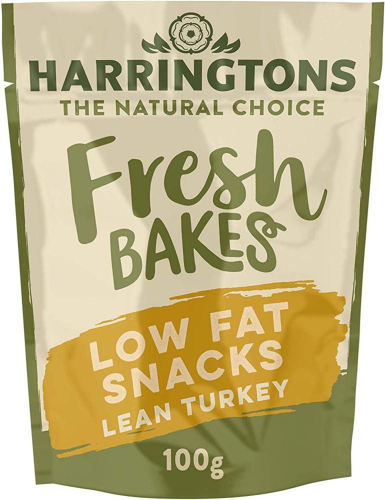 3 FOR 99P  Harringtons Low Fat Turkey Treats 100g