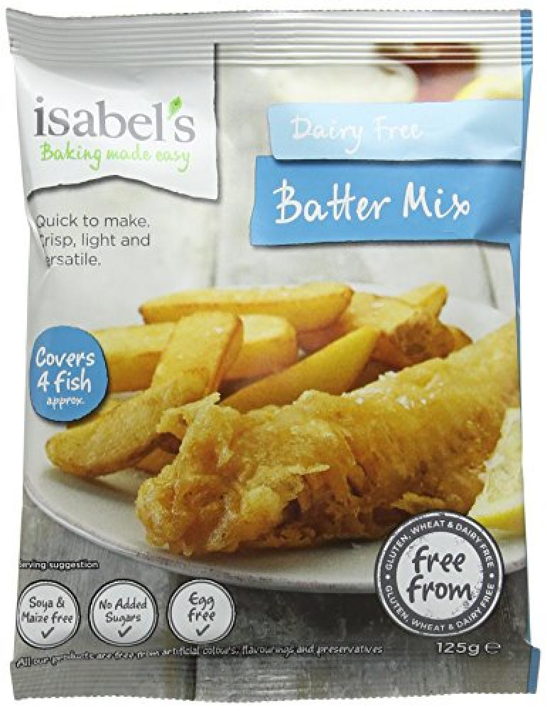 Isabels Gluten Free Batter Mix 125g