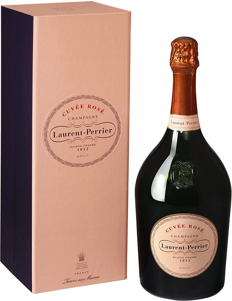 Laurent Perrier Cuvee Rose Non Vintage Champagne Magnum in Gift Box 150 cl