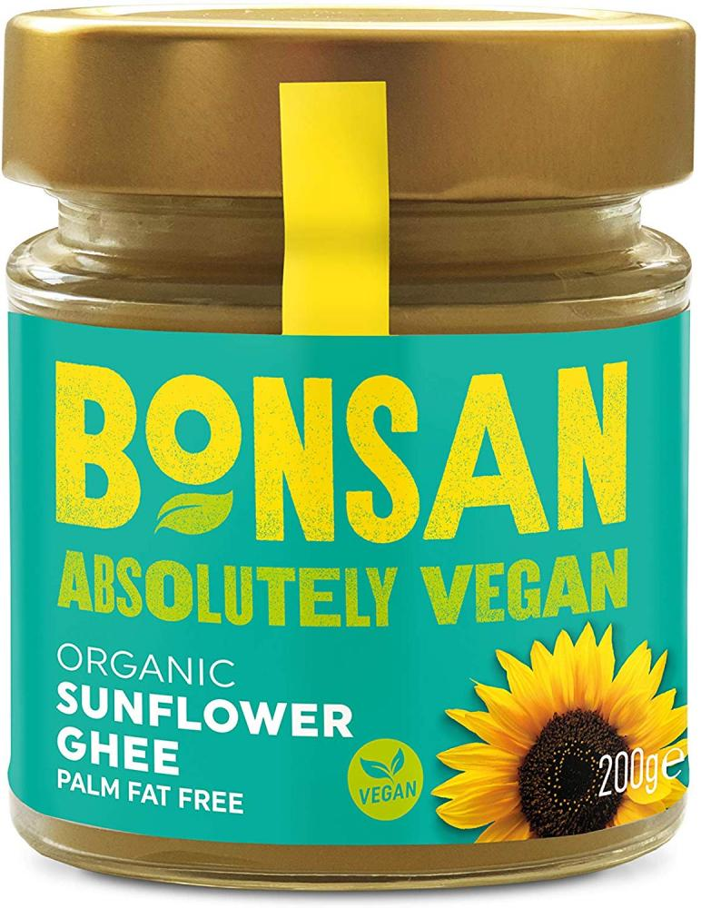 Bonsan Organic Vegan Sunflower Ghee 200g