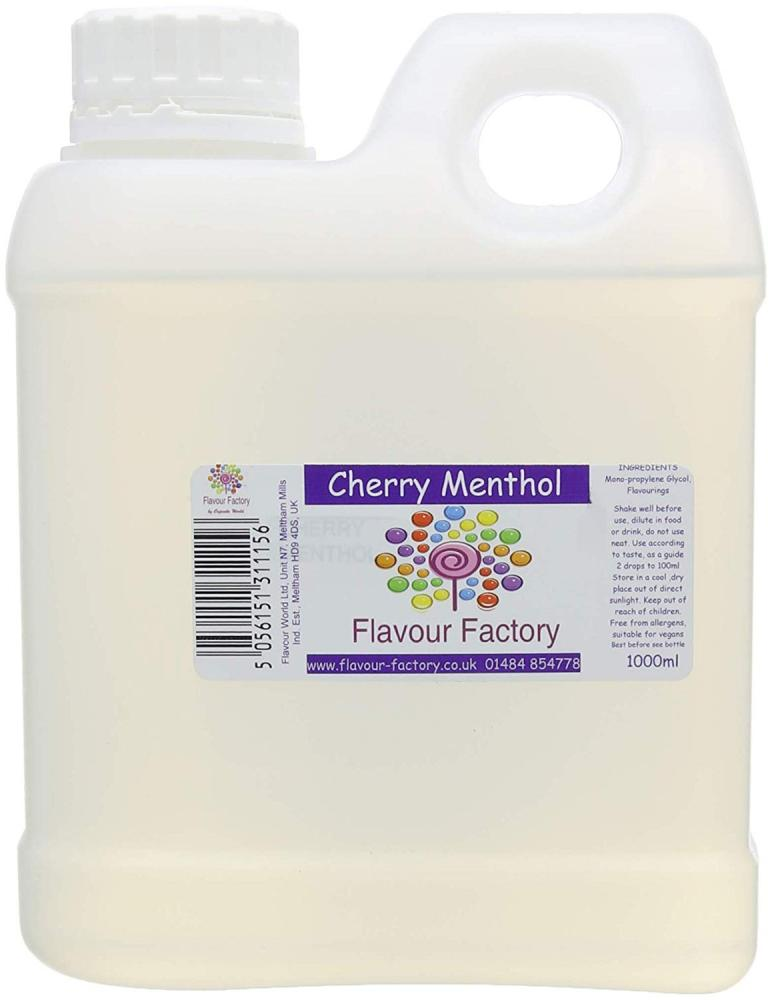 Flavour Factory Intense Food Flavouring Cherry Menthol 1000ml