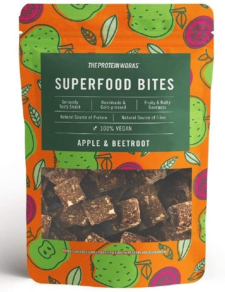 The Protein Works Superfood Bites Apple and Beetroot 140g