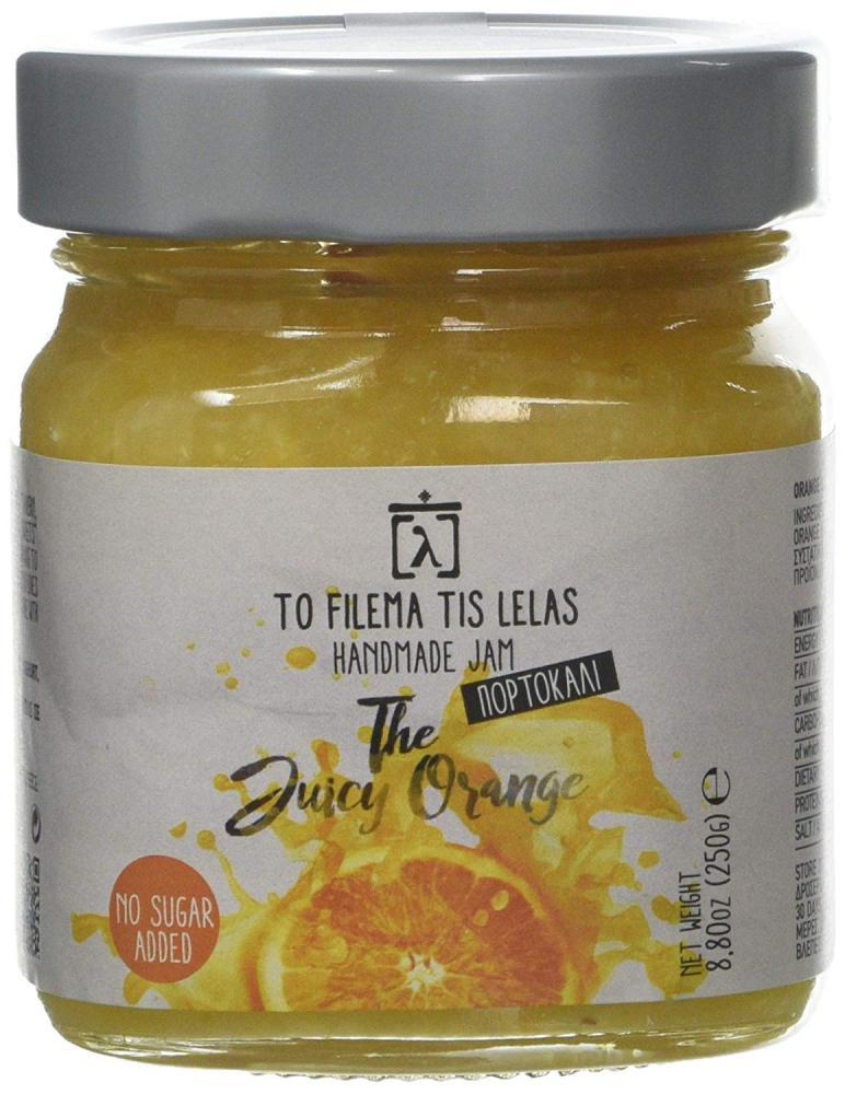 To Filema Tis Lelas Handmade No Sugar Jam The Juicy Orange 250g