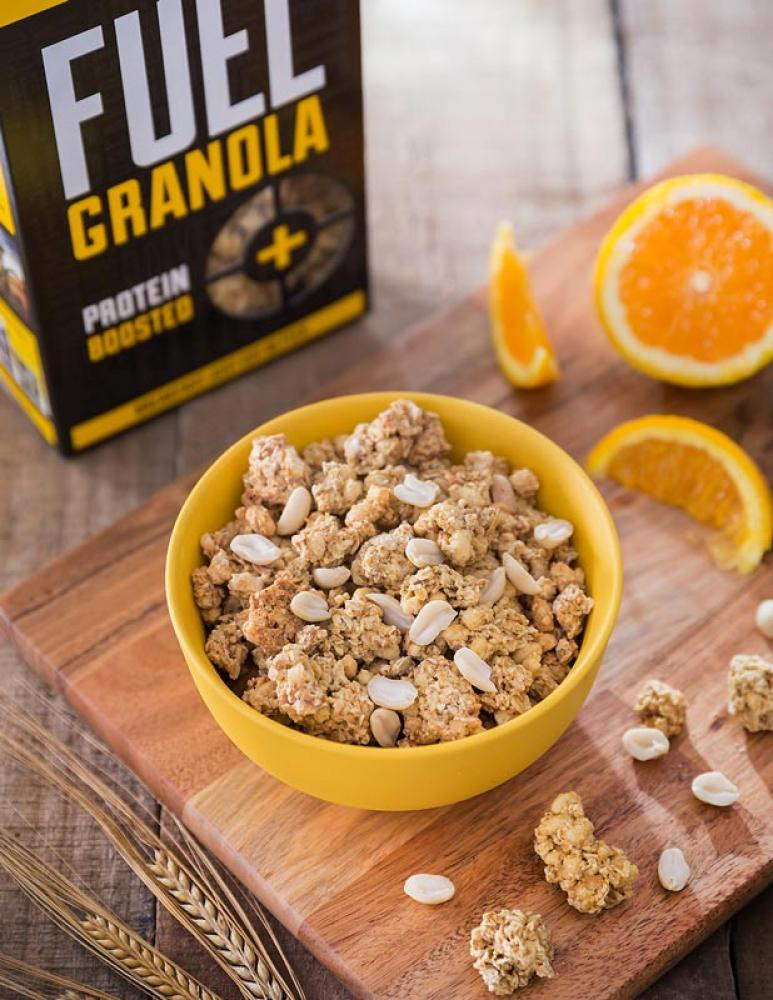 Fuel 10K Protein Boosted Chunky Granola Peanut Loaded 400g