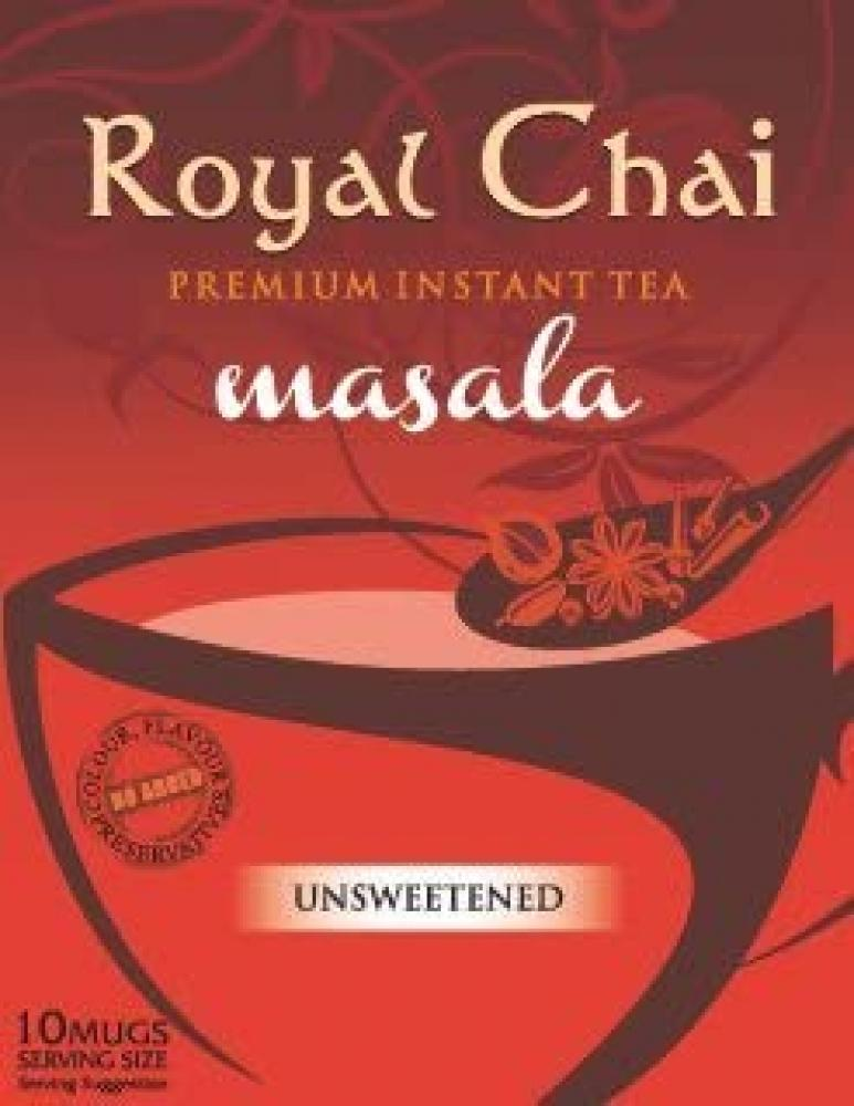 Royal Chai Instant Tea Masala Unsweetened 180g