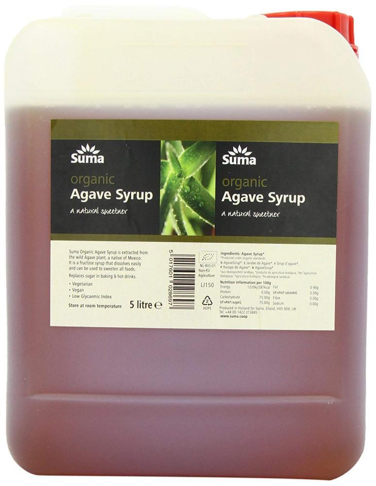 Suma Organic Agave Syrup 5 L