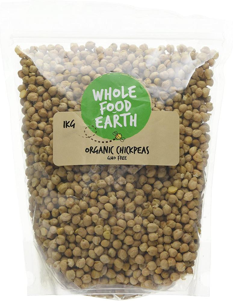 Wholefood Earth Organic Chickpeas 1kg