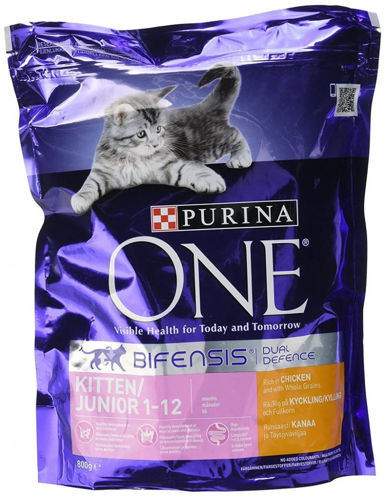 Purina One Kitten Dry Food Rich in Chicken 800g