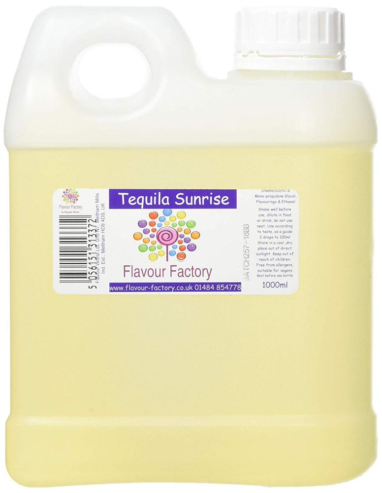 Flavour Factory Intense Food Flavouring Tequila Sunrise 1000 ml