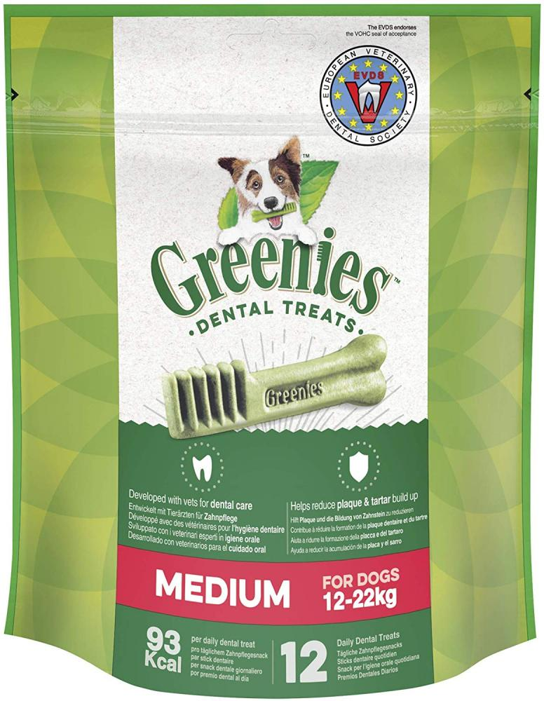 WEEKLY DEAL  Greenies Daily Original Medium Dog Treats The Smart Dental Treat 12 Treats